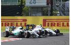 Valtteri Bottas & Nico Hülkenberg - GP Japan 2015