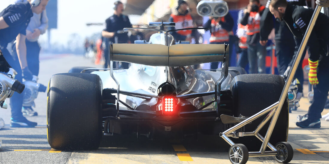 Valtteri Bottas - Williams - F1-Test - Barcelona - 27. Februar 2017