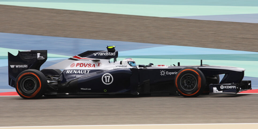 Valtteri Bottas - Williams - Formel 1 - GP Bahrain - 19. April 2013