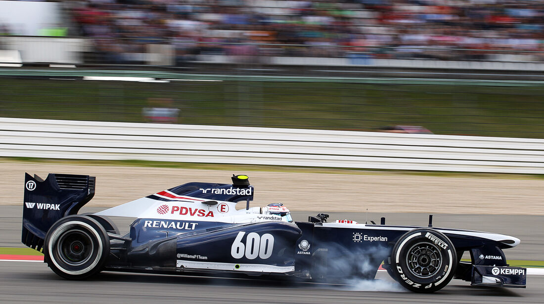 Valtteri Bottas - Williams - Formel 1 - GP Deutschland - 6. Juli 2013