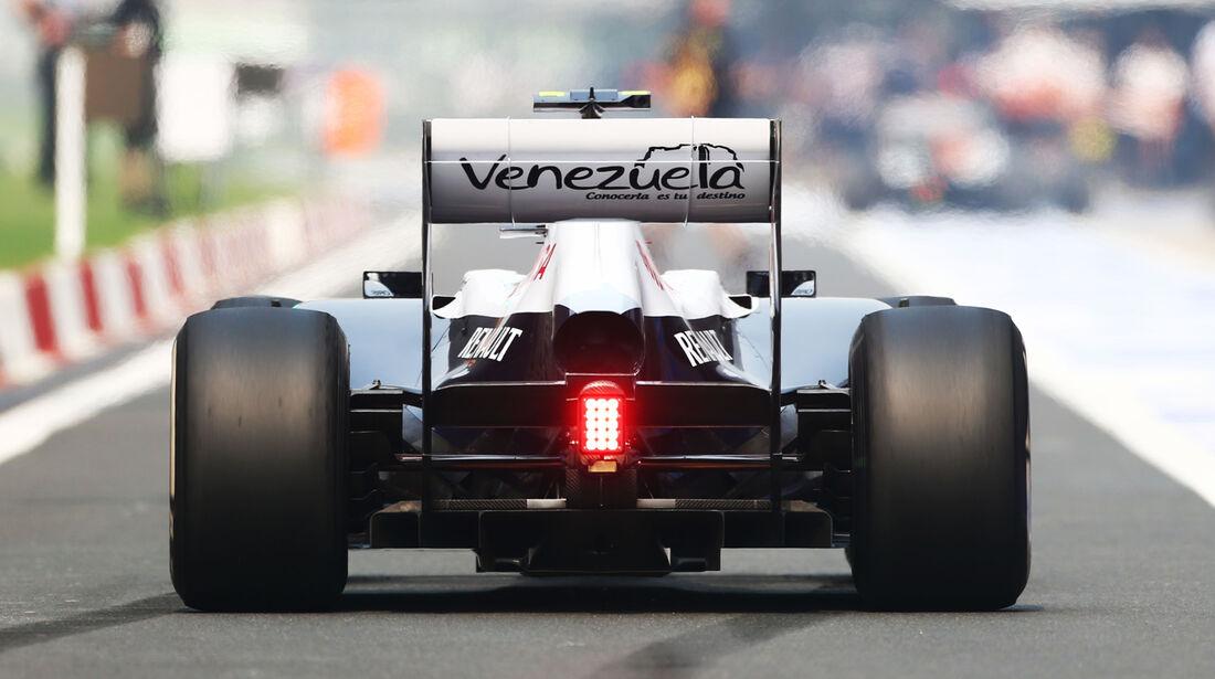 Valtteri Bottas - Williams - Formel 1 - GP Indien - 25. Oktober 2013