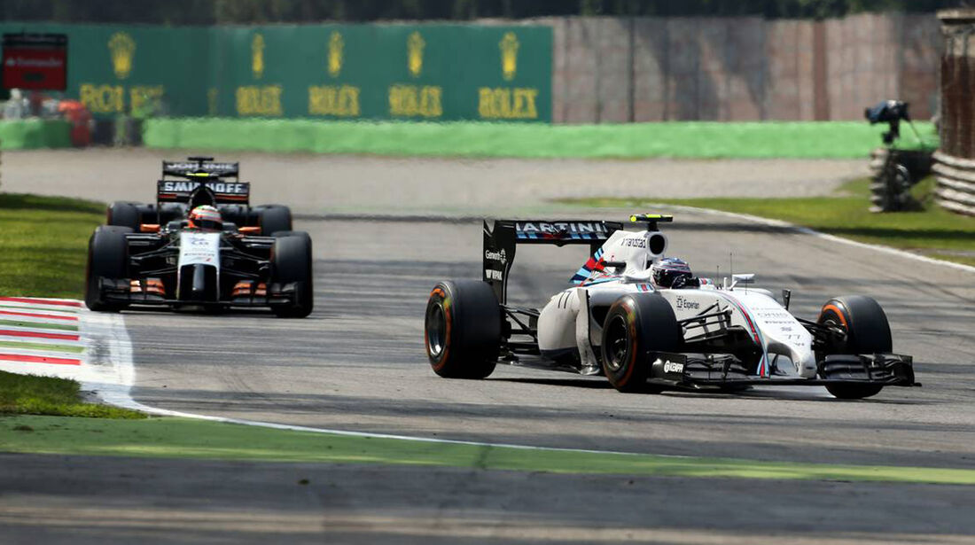 Valtteri Bottas  - Williams - Formel 1 - GP Italien - 7. September 2014