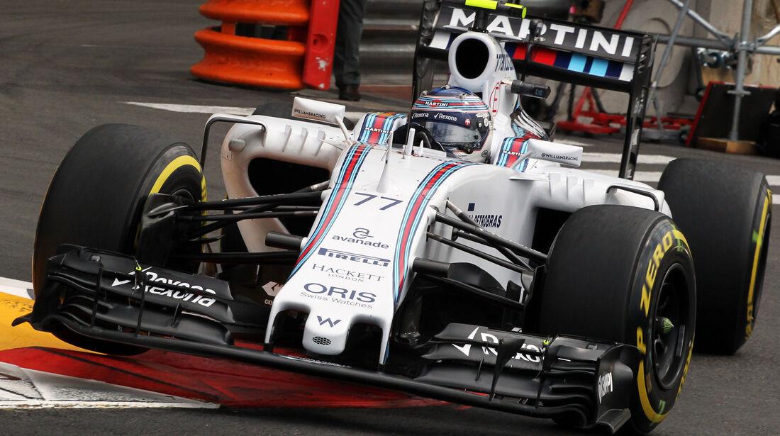 Valtteri Bottas - Williams - Formel 1 - GP Monaco - 21. Mai 2015