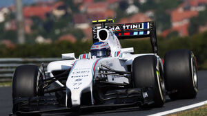 Valtteri Bottas - Williams - Formel 1 - GP Ungarn - 25. Juli 2014