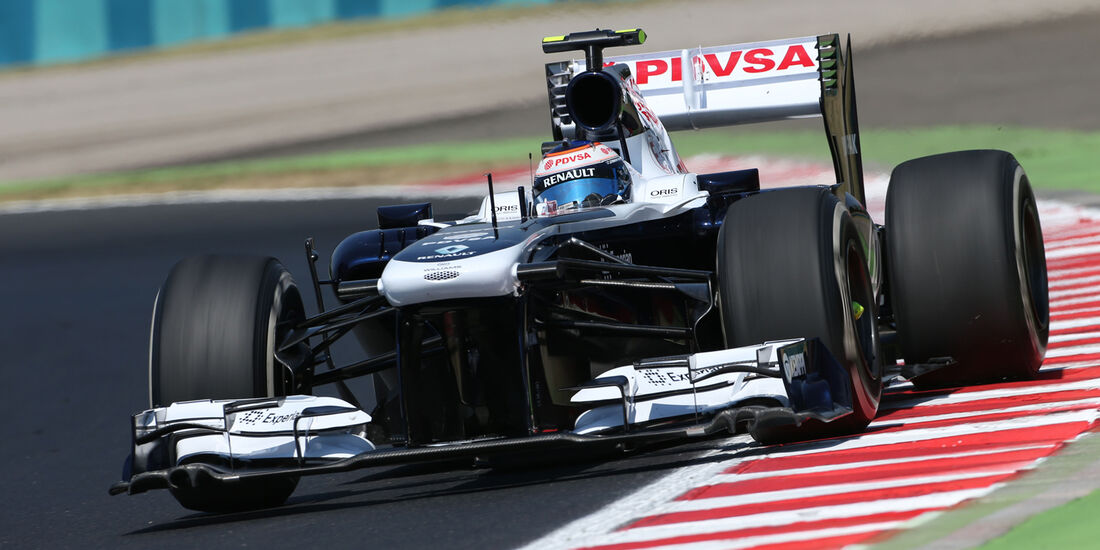 Valtteri Bottas - Williams - Formel 1 - GP Ungarn - 26. Juli 2013