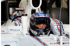 Valtteri Bottas - Williams - Formel 1 - Silverstone-Test - 9. Juli 2014
