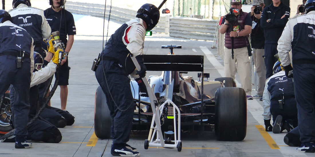 Valtteri Bottas - Williams - Formel 1 - Test - Bahrain - 21. Februar 2014