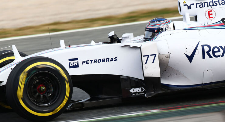 Valtteri Bottas - Williams - Formel 1-Test - Barcelona - 1. März 2015