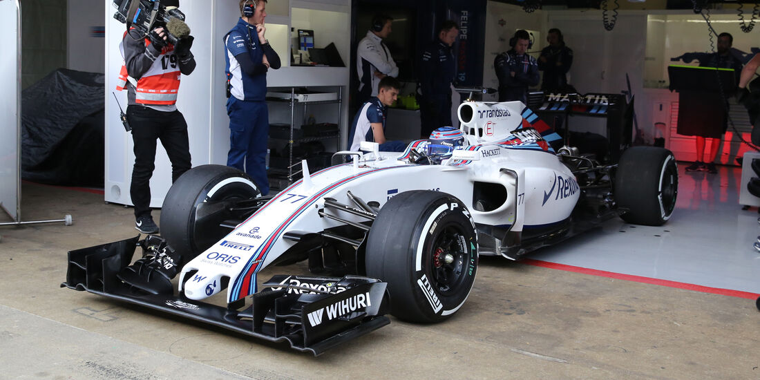 Valtteri Bottas - Williams - Formel 1-Test - Barcelona - 23. Februar 2016