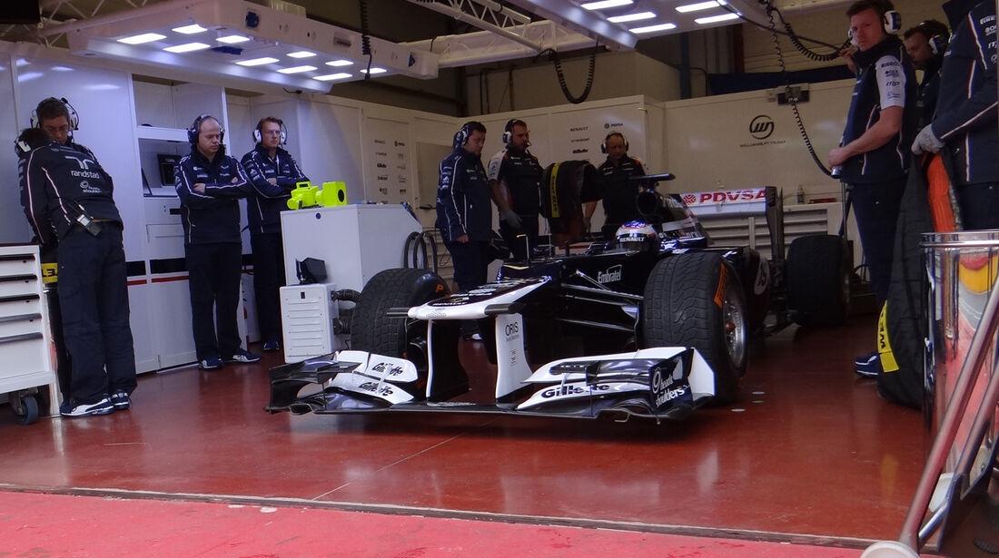 Valtteri Bottas - Williams - Formel 1-Test - Mugello - 1. Mai 2012