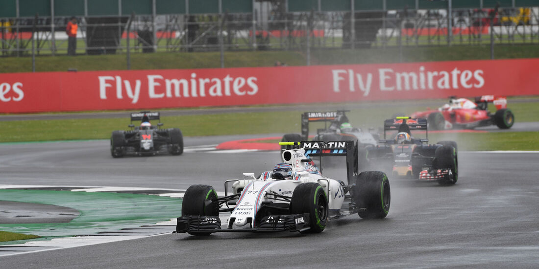 Valtteri Bottas - Williams - GP England 2016 - Silverstone - Rennen