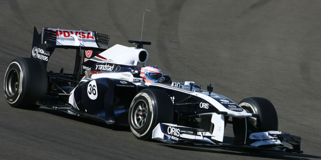 Valtteri Bottas Young Driver Test Abu Dhabi 2011