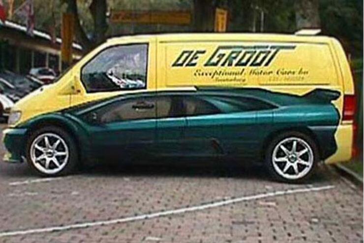 Van-Lackierung Sportwagen