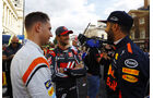 Vandoorne, Grosjean & Ricciardo - F1 Live Show - London - 2017