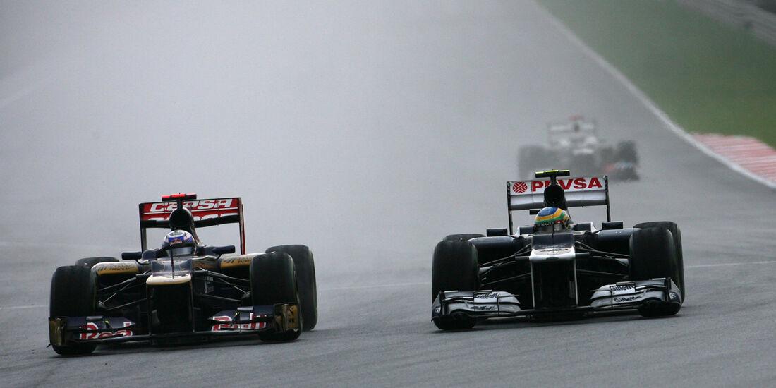 Vergne & Senna GP Malaysia 2012
