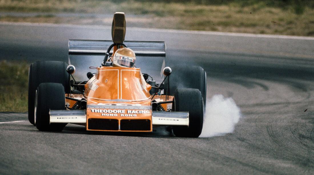 Vern Schuppan - Ensign N174 - GP Schweden 1974
