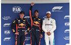 Verstappen, Ricciardo & Hamilton - Formel 1 - GP Mexiko - 27. Oktober 2018