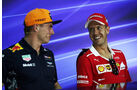 Verstappen & Vettel - Formel 1 - GP Malaysia - Sepang - 28. September 2017