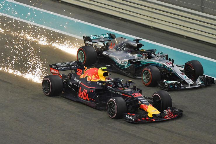 Verstappen vs. Hamilton - GP Abu Dhabi 2018