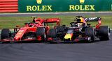Verstappen vs. Leclerc - GP England 2019