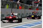 Vettel & Alonso - Formel 1 - GP Brasilien - Sao Paulo - 23. November 2012