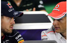 Vettel & Button - GP Brasilien 2013