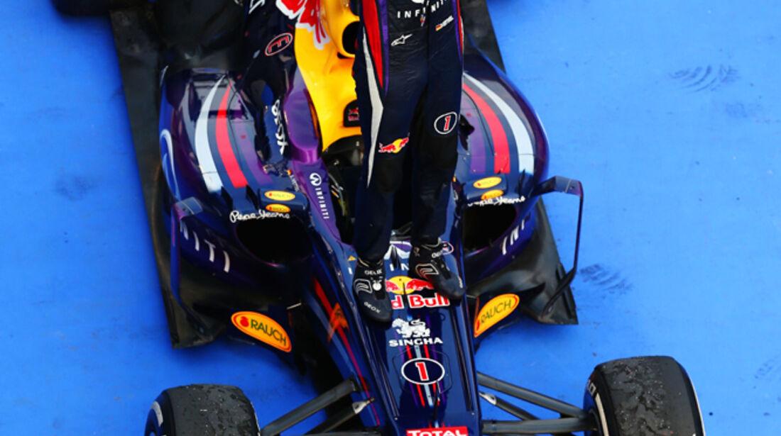 Vettel - Formel 1 - GP Malaysia 2013