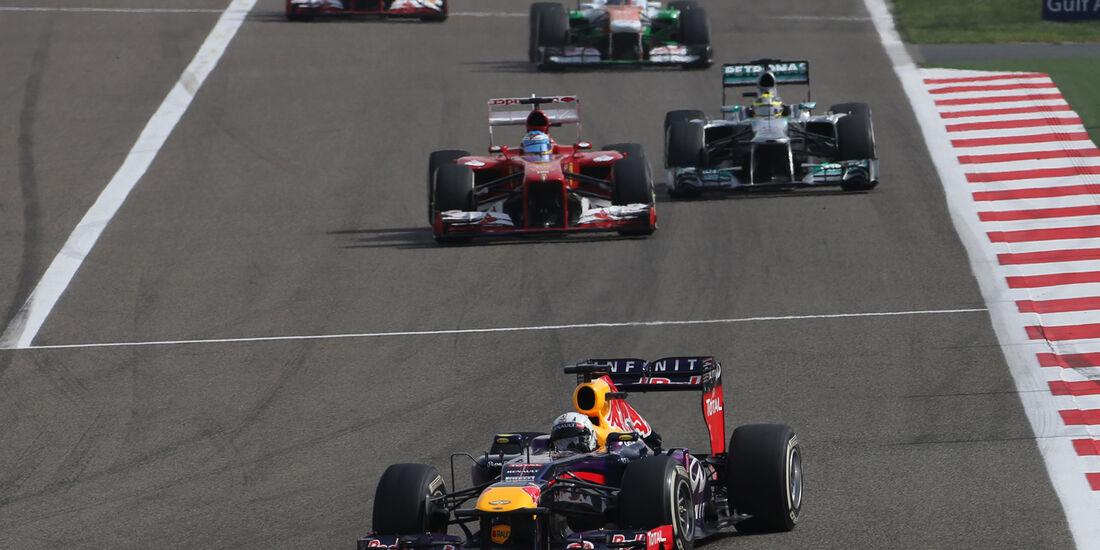 Vettel - GP Bahrain 2013