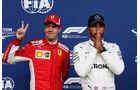 Vettel & Hamilton - Formel 1 - GP Belgien - Spa-Francorchamps - 25. August 2018