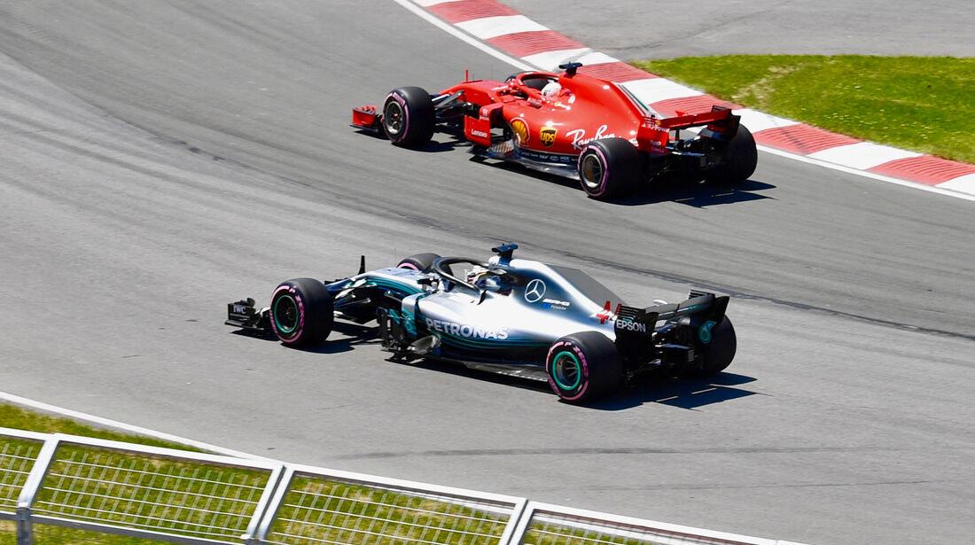 Vettel & Hamilton - Formel 1 - GP Kanada - Montreal - 9. Juni 2018