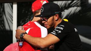 Vettel & Hamilton - GP Bahrain 2015