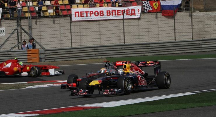 Vettel Hamilton GP Formel 1 GP China 2011