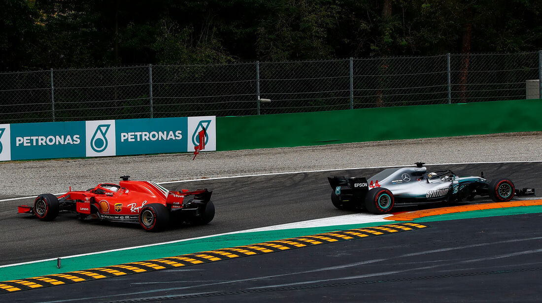 Vettel & Hamilton - GP Italien 2018