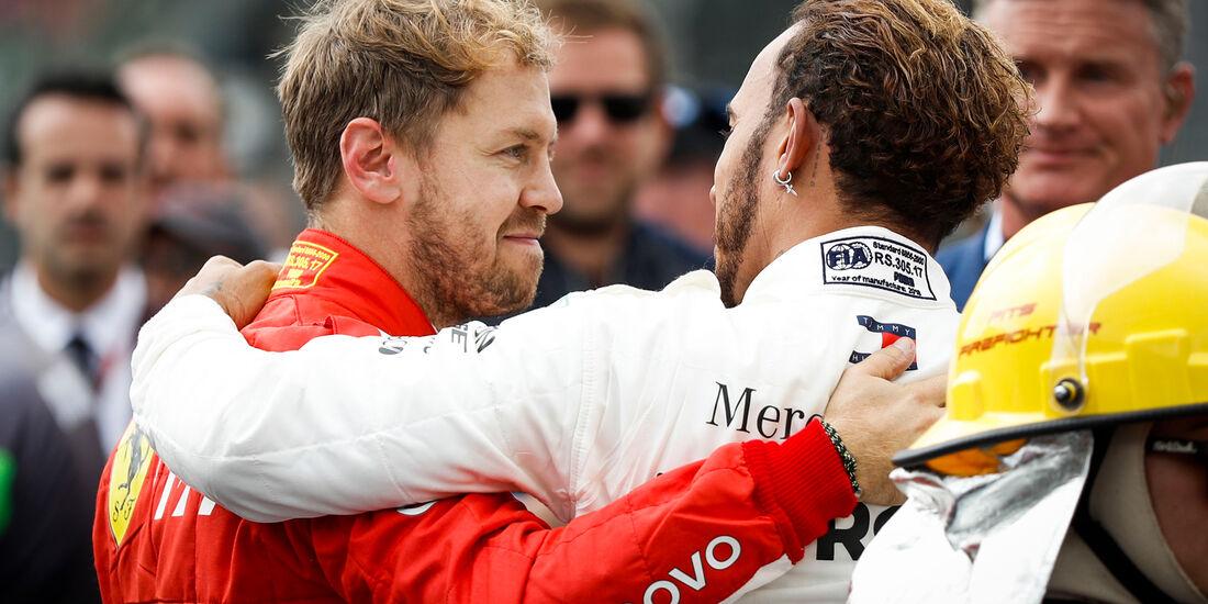 Vettel & Hamilton - GP Mexiko 2018