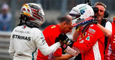 Vettel & Hamilton - GP USA 2018