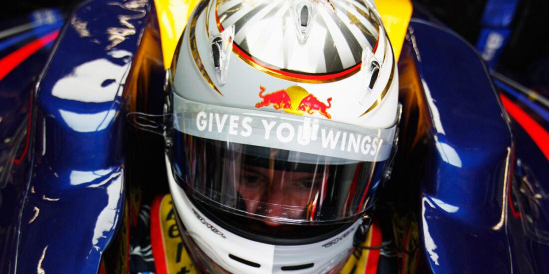 Vettel Helm GP Deutschland 2009