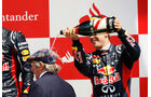 Vettel & Jackie Stewart F1 Fun Pics 2012