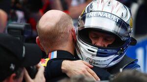 Vettel Newey GP Malaysia 2011 Formel 1