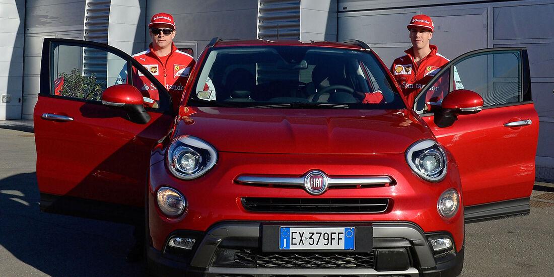Vettel & Räikkönen - Ferrari - Privatautos