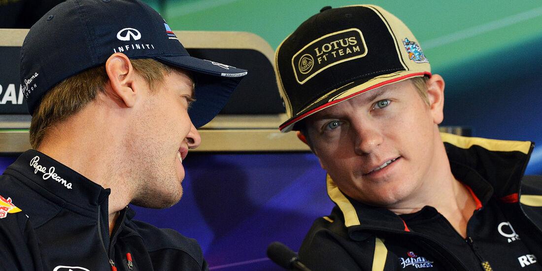 Vettel & Räikkönen - Formel 1 - GP USA - Austin - 15. November 2012