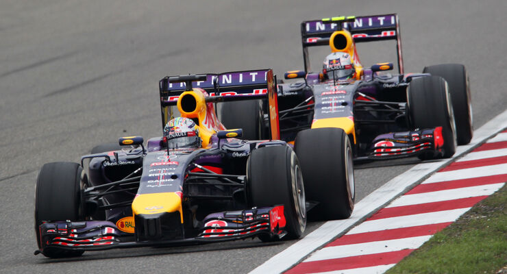 Vettel & Ricciardo - GP China 2014