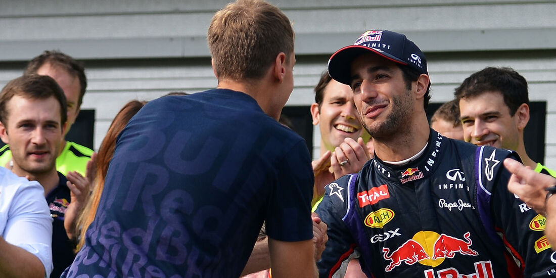 Vettel & Ricciardo - GP Ungarn 2014