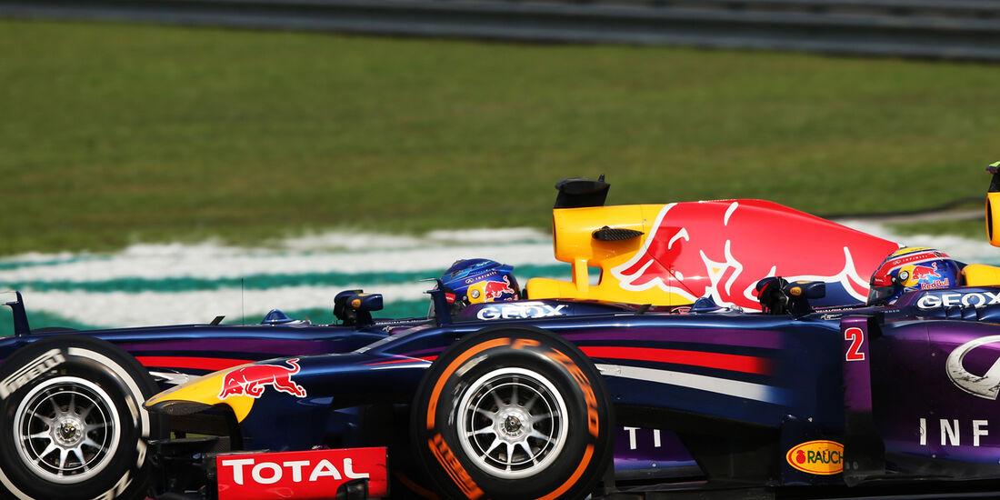 Vettel & Webber GP Malaysia 2013