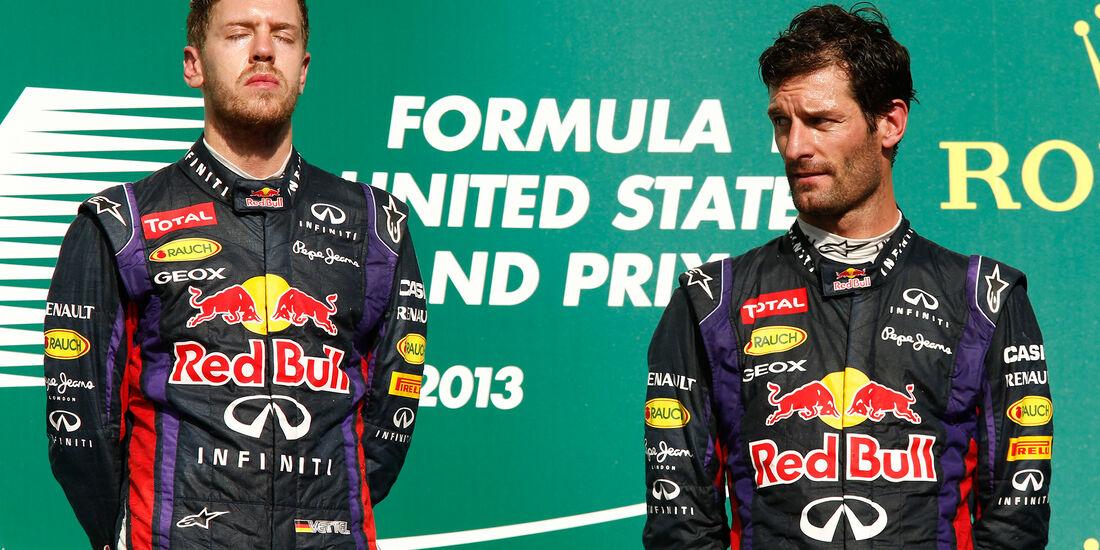Vettel & Webber - GP USA 2018