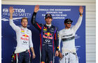 Vettel, Webber & Hamilton - Formel 1 - GP Japan - 12. Oktober 2013