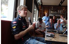 Vettel Webber Red Bull GP Australien 2012 Strand