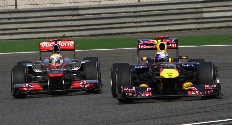 Vettel vs. Hamilton 2011