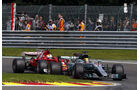 Vettel vs. Hamilton - GP Belgien 2017