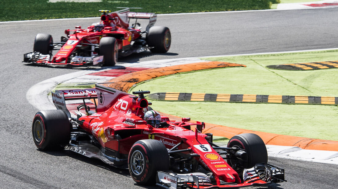Vettel vs. Räikkönen - GP Italien 2017