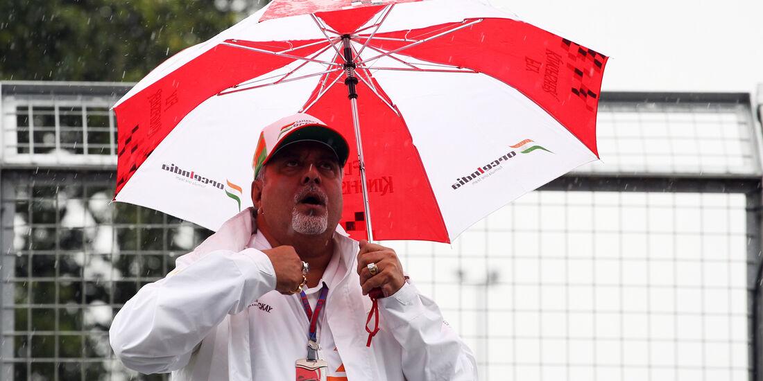 Vijay Mallya - Force India - Formel 1 - GP England - Silverstone - 7. Juli 2012